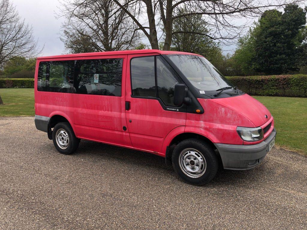 Ford Transit Minibus 2.3 Petrol 9 Seat Bus