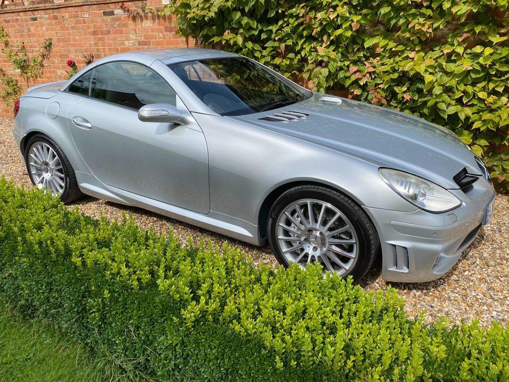 Mercedes-Benz SLK Convertible 5.4 SLK55 AMG 7G-Tronic 2dr