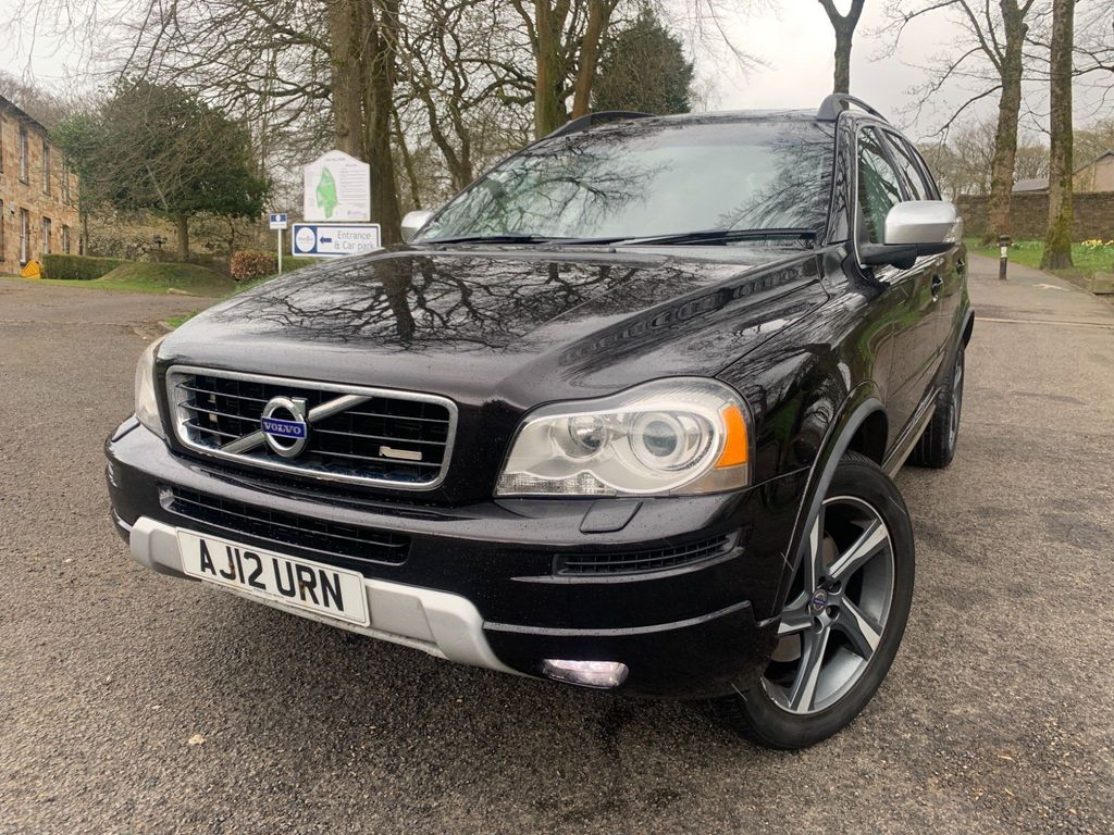 Volvo XC90 SUV 2.4 D5 R-Design Geartronic 4WD 5dr