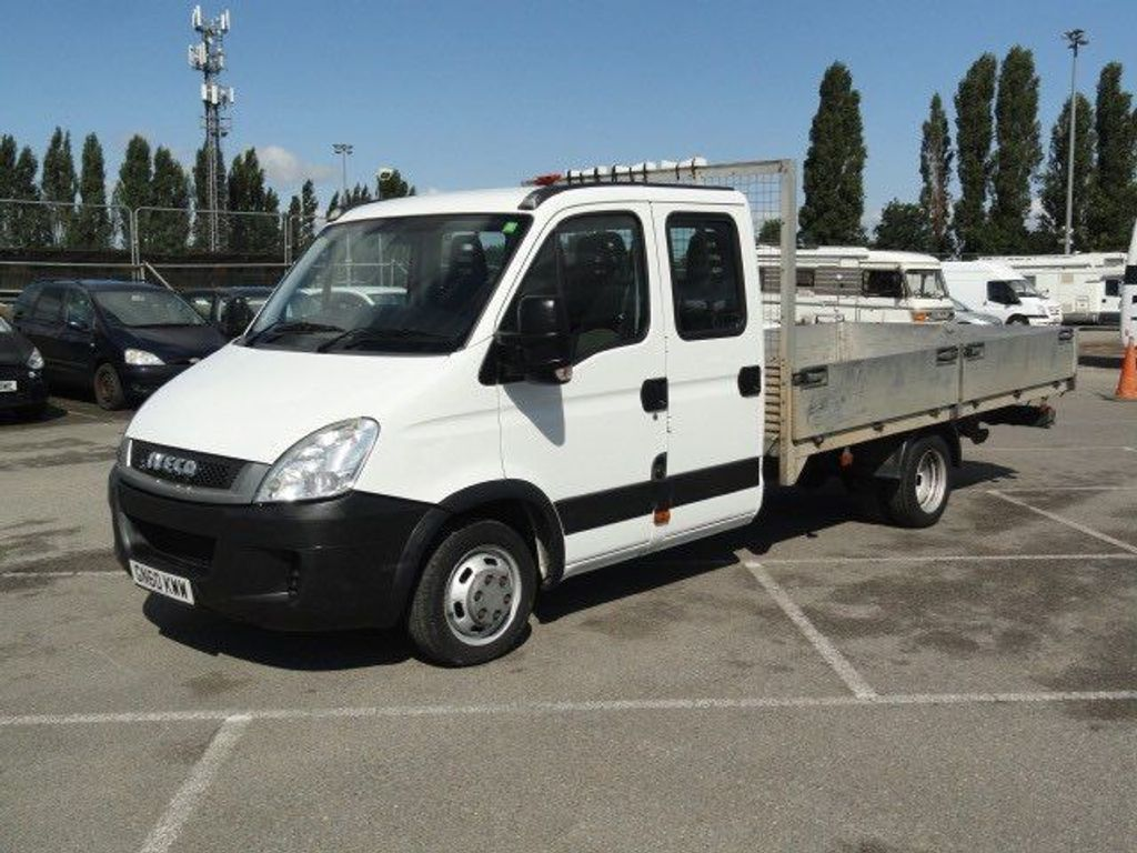 Iveco Daily Dropside 3.0 TD 35C15D XLWB Crewcab Chassis 2dr