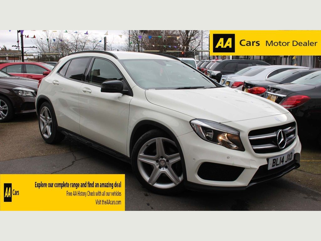 Mercedes-Benz GLA Class SUV 2.0 GLA250 AMG Line (Executive) 7G-DCT 4MATIC 5dr