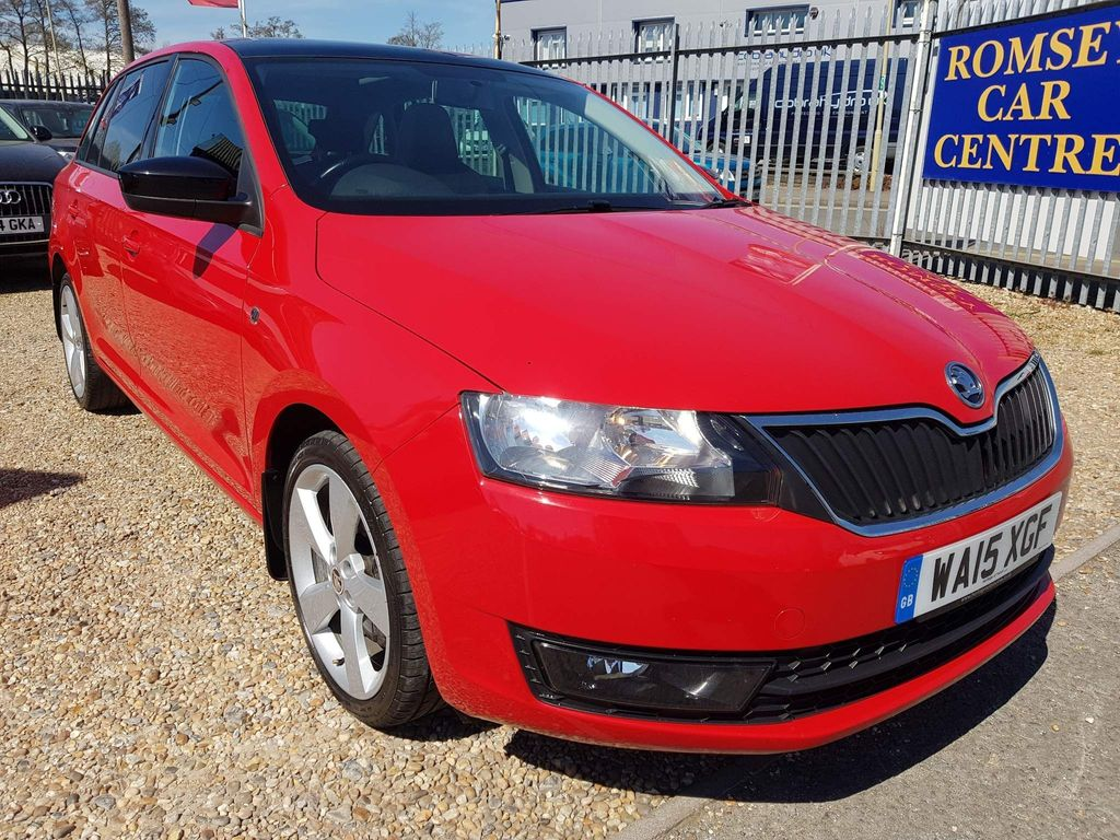 SKODA Rapid Spaceback Hatchback 1.2 TSI GreenTech SE Sport Spaceback (s/s) 5dr