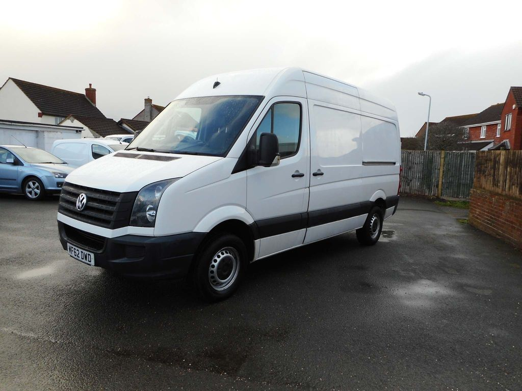 Volkswagen Crafter Panel Van 2.0 TDI CR35 High Roof Van 4dr (MWB)