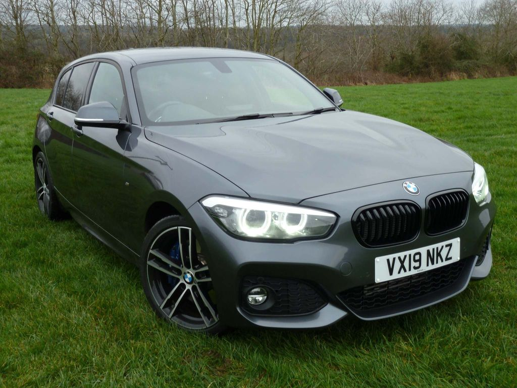 Used Bmw 1 Series Hatchback 2 0 120d M Sport Shadow Edition Sports Hatch Auto S S 5dr In Worcester Worcestershire Simcol Cars