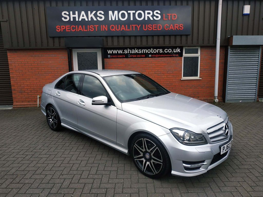 Mercedes-Benz C Class Saloon 2.1 C250 CDI BlueEFFICIENCY AMG Sport Plus 4dr