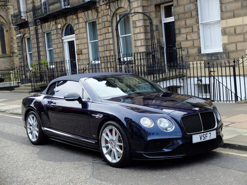 Bentley Continental Convertible 4.0 GTC V8 S Auto 4WD 2dr (EU5)
