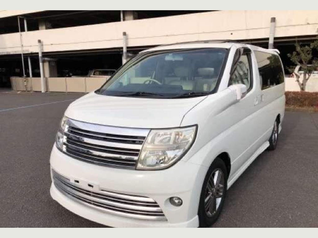 Nissan Elgrand MPV Rider Autech4wd Curtains Sunroof Leather
