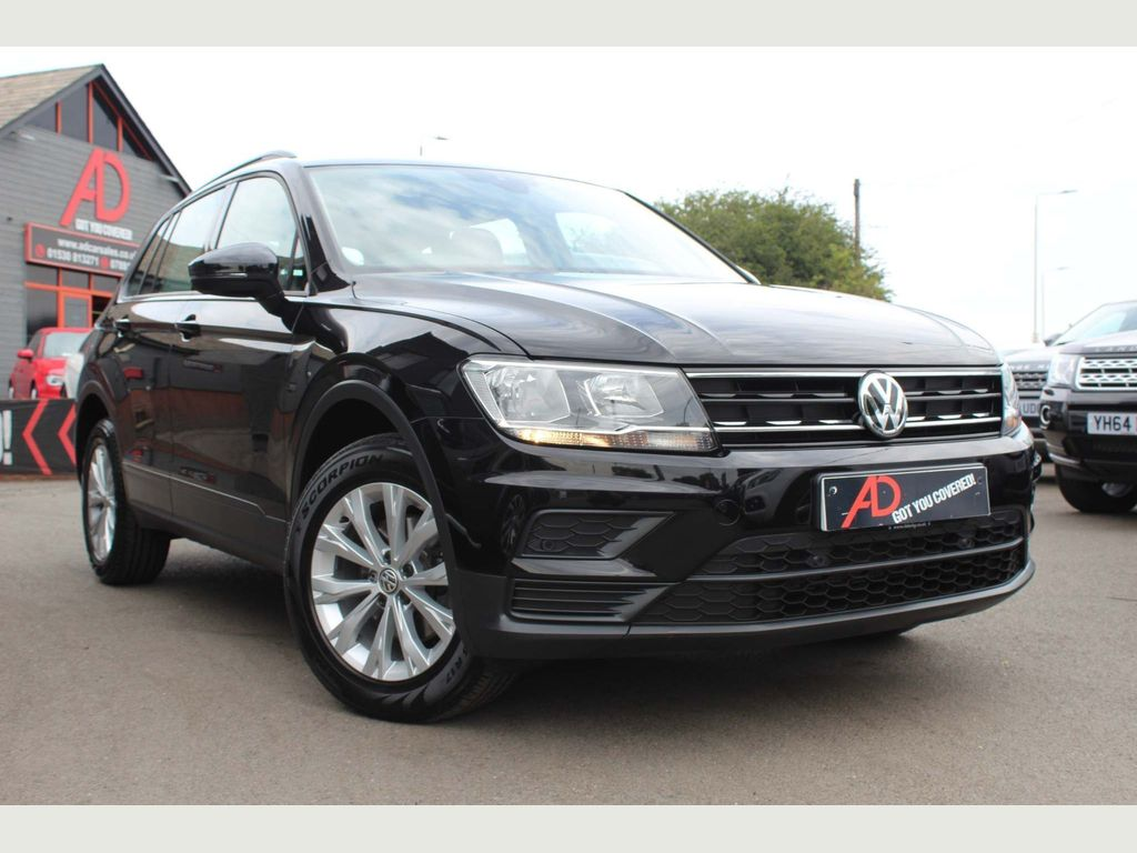 VOLKSWAGEN TIGUAN SUV 2.0 TDI BlueMotion Tech S 4Motion (s/s) 5dr