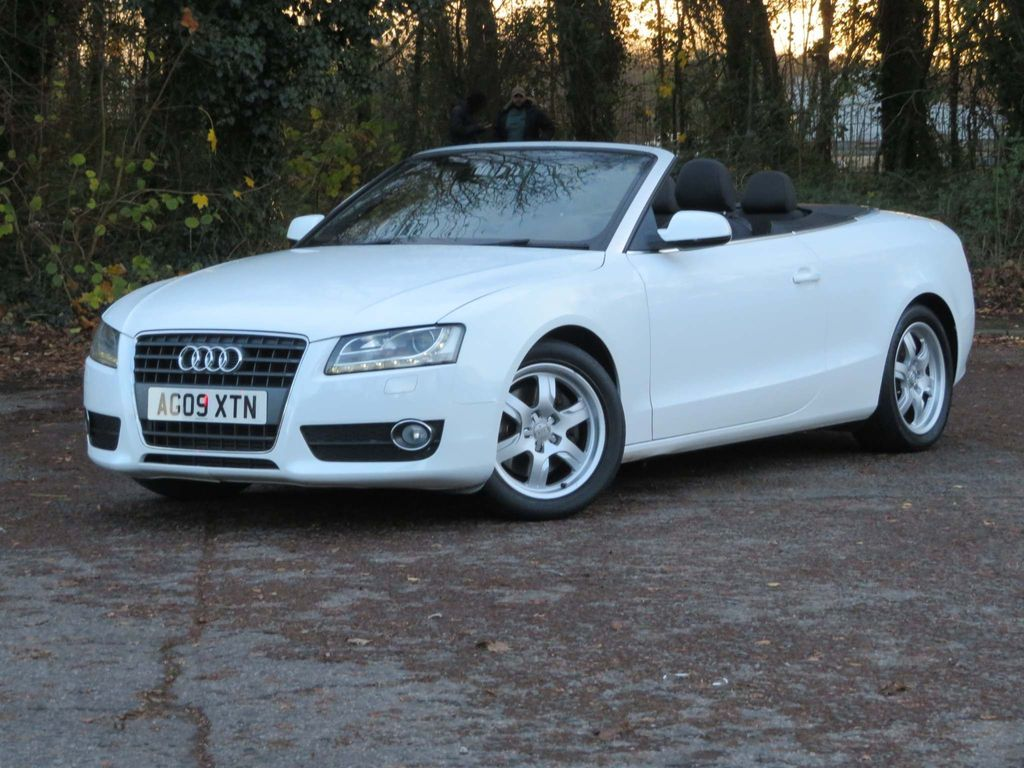 Audi A5 Cabriolet Convertible 2.0 TFSI Cabriolet 2dr