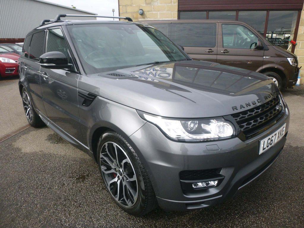 Land Rover Range Rover Sport SUV 3.0 SD V6 HSE Dynamic CommandShift 2 4X4 (s/s) 5dr