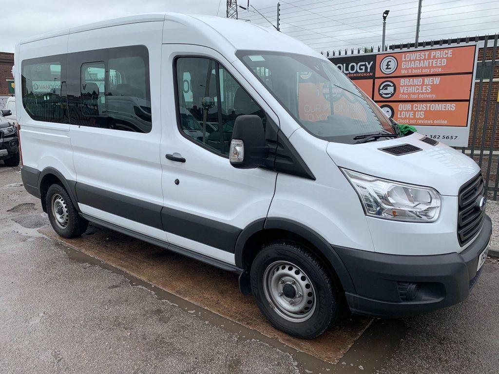 Ford Transit Minibus 2.2TDCi HDT 12 SEAT L2 MWB-FACTORY SPEC.