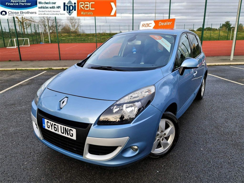 Renault Scenic MPV 1.6 VVT Dynamique Tom Tom 5dr (Tom Tom)