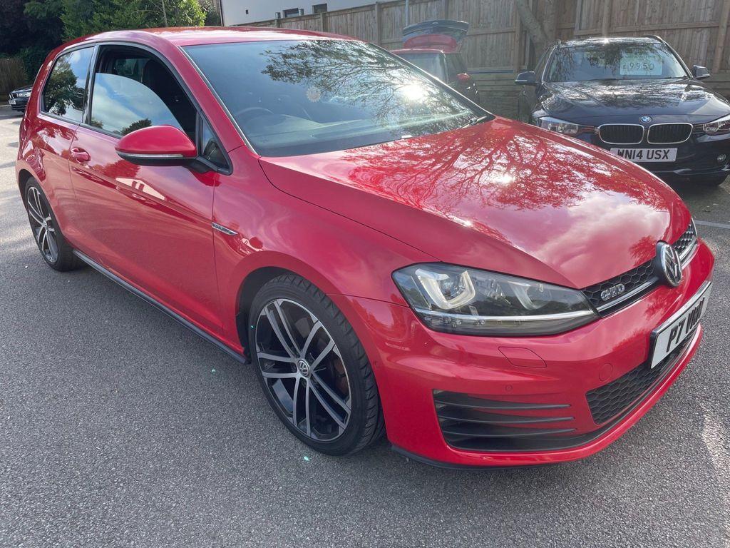 Volkswagen Golf Hatchback 2.0 TDI BlueMotion Tech GTD DSG 3dr