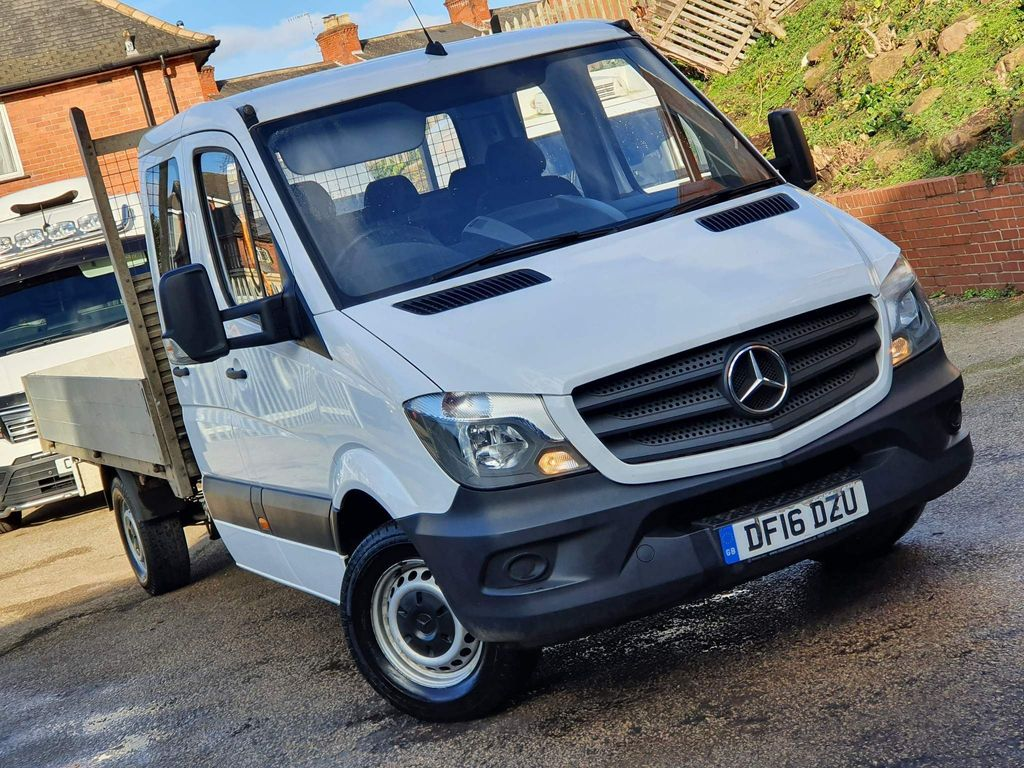 Mercedes-Benz Sprinter Chassis Cab 2.1 CDI 313 Crewcab Tipper 4dr (LWB)