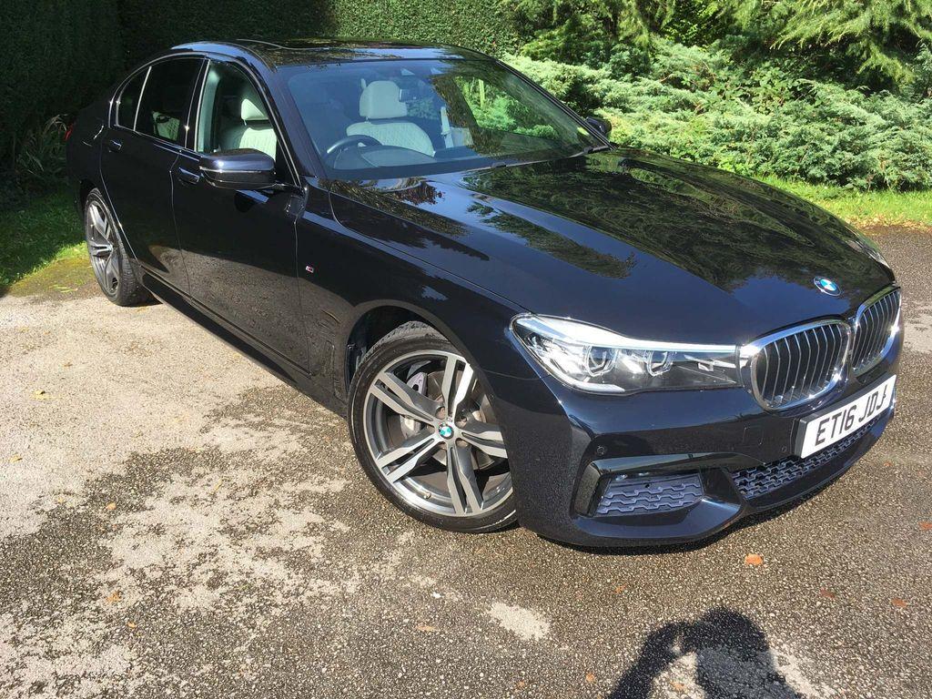 BMW 7 Series Saloon 3.0 740d M Sport Auto xDrive (s/s) 4dr