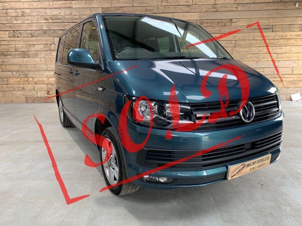 Volkswagen Transporter Combi Van 2.0 TDI T32 BlueMotion Tech Highline Crew Van 4Motion (s/s) 5dr
