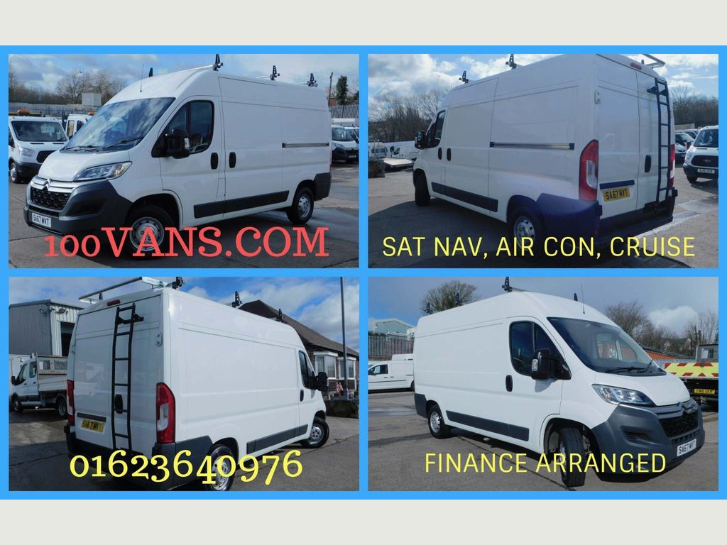Citroen Relay Panel Van 2.0 BLUE HDI L2 H2 NAV, AIR, CRUISE