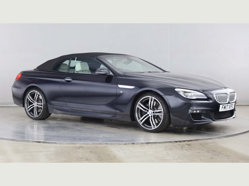BMW 6 Series Convertible 4.4i V8 M Sport Auto (s/s) 2dr