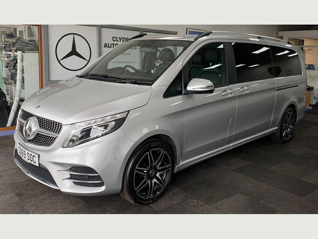 Mercedes-Benz V Class MPV 2.0 V300d AMG Line G-Tronic+ (s/s) 5dr 8 Seat XLWB