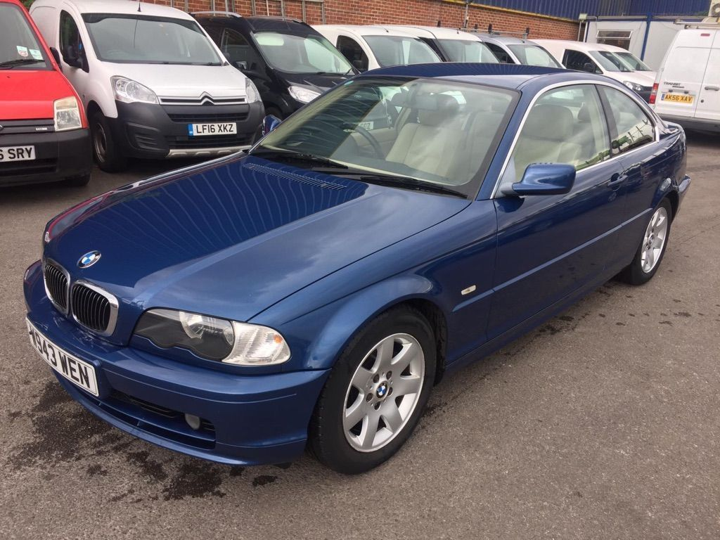 BMW 3 Series Coupe 2.5 323Ci 2dr