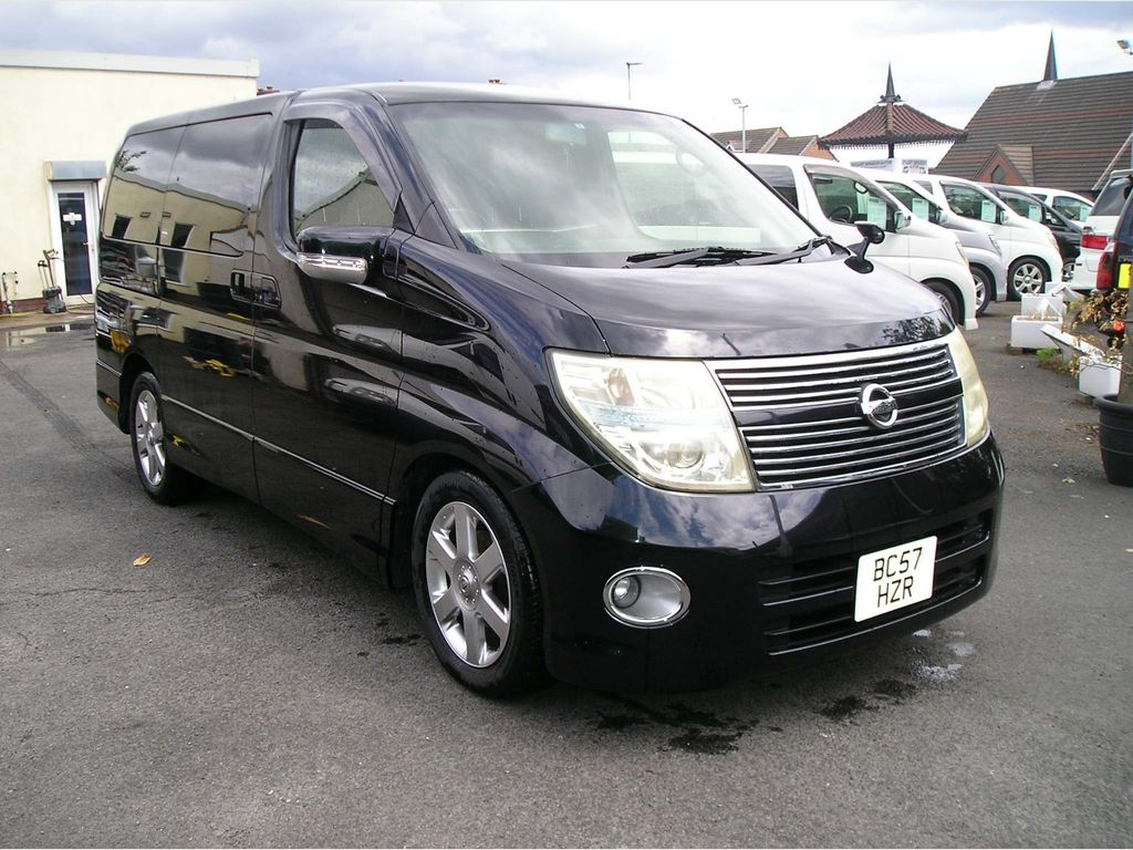 Nissan Elgrand MPV 2.5 Highway star, Registered to go