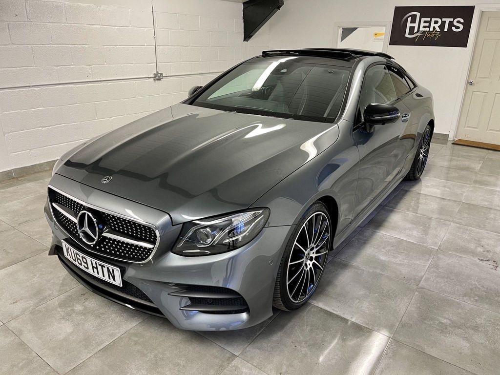 Mercedes-Benz E Class Coupe 2.0 E350 AMG Line (Premium Plus) G-Tronic+ (s/s) 2dr
