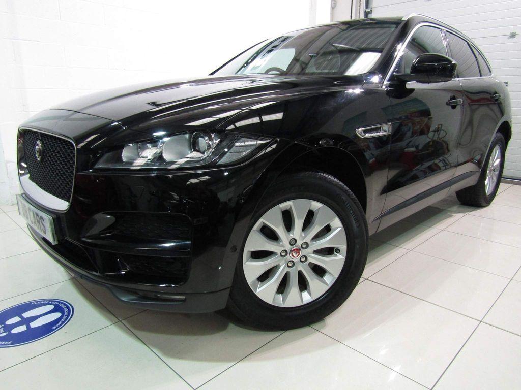 Jaguar F-PACE SUV 2.0d Portfolio Auto AWD (s/s) 5dr