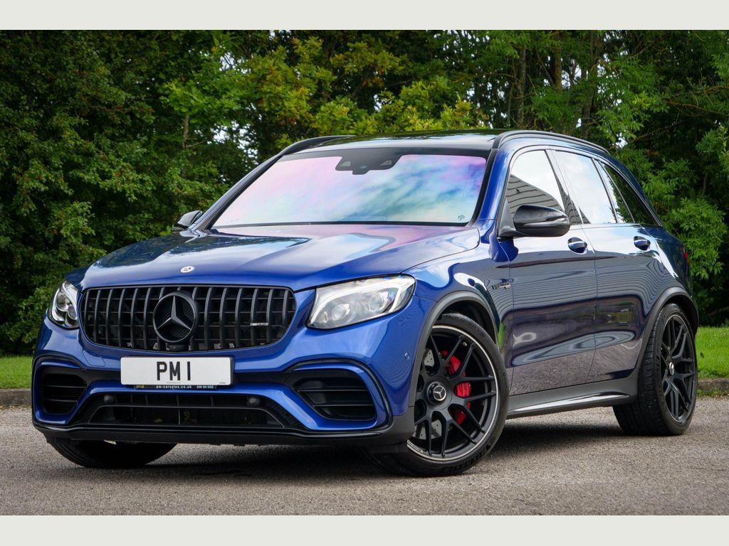 Mercedes-Benz GLC Class SUV 4.0 GLC63 V8 BiTurbo AMG S (Premium) SpdS MCT 4MATIC+ (s/s) 5dr