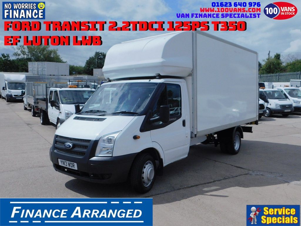 Ford Transit Luton SOLD SOLD SOLD