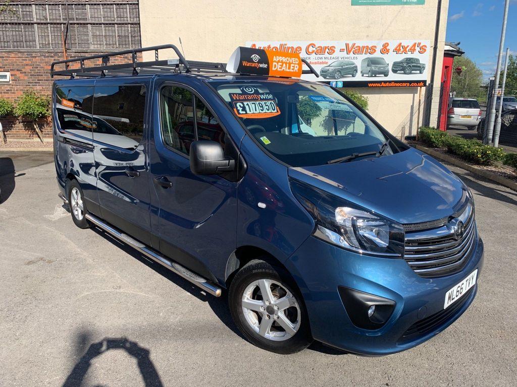 Vauxhall Vivaro Other 1.6 CDTi 2900 BiTurbo L2 H1 EU6 (s/s) 5dr (9 Seat)