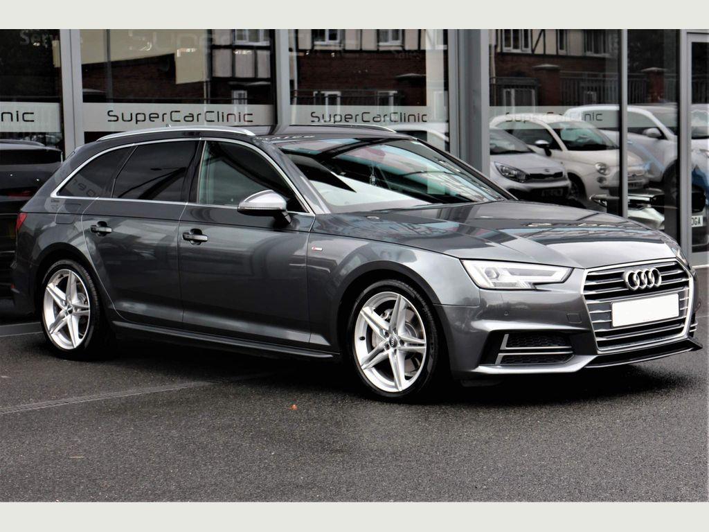 Audi A4 Avant Estate 2.0 TDI S line Avant S Tronic (s/s) 5dr