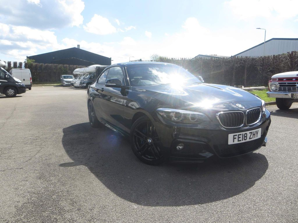 BMW 2 Series Coupe 2.0 220d M Sport (s/s) 2dr
