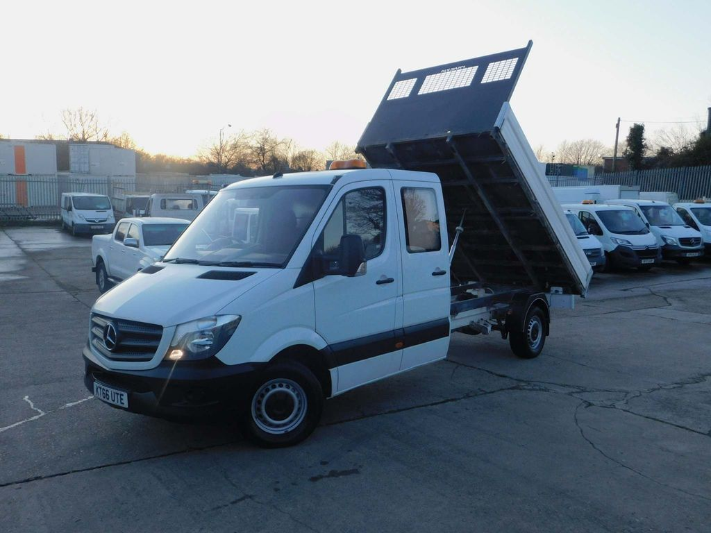 Mercedes-Benz Sprinter Tipper 2.1CDI 314 140PS DOUBLE CAB TIPPER