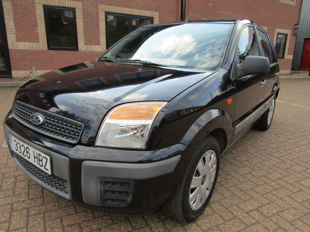 Ford Fusion Hatchback 1.4 TDCi AMBIENTE 5 DR MANUAL