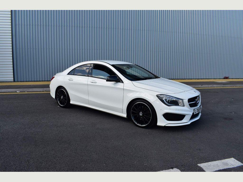 Mercedes-Benz CLA Class Coupe 2.1 CLA220 CDI AMG Sport 7G-DCT (s/s) 4dr