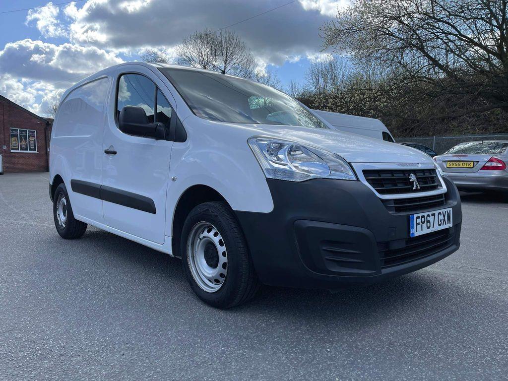 Peugeot Partner Panel Van 1.6 BlueHDi (Eu6) SE L1 651 5dr