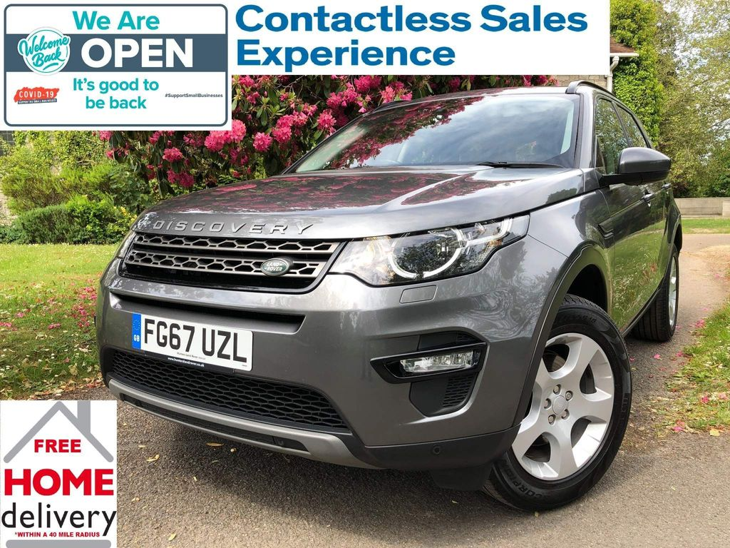 Land Rover Discovery Sport SUV 2.0 eD4 SE Tech (s/s) 5dr (5 Seat)