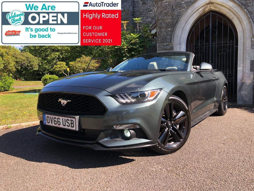 Ford Mustang Convertible 2.3T EcoBoost 2dr