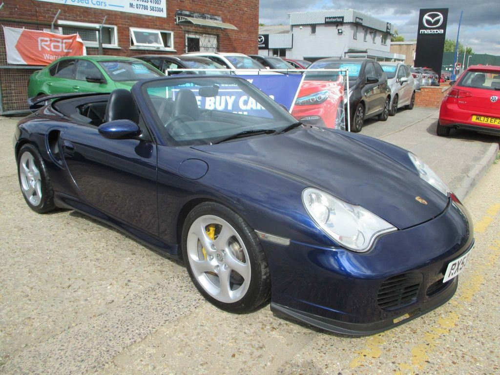 Porsche 911 Convertible 3.6 996 Turbo Cabriolet AWD 2dr