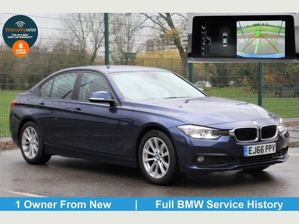 BMW 3 Series Saloon 2.0 320i SE Auto (s/s) 4dr