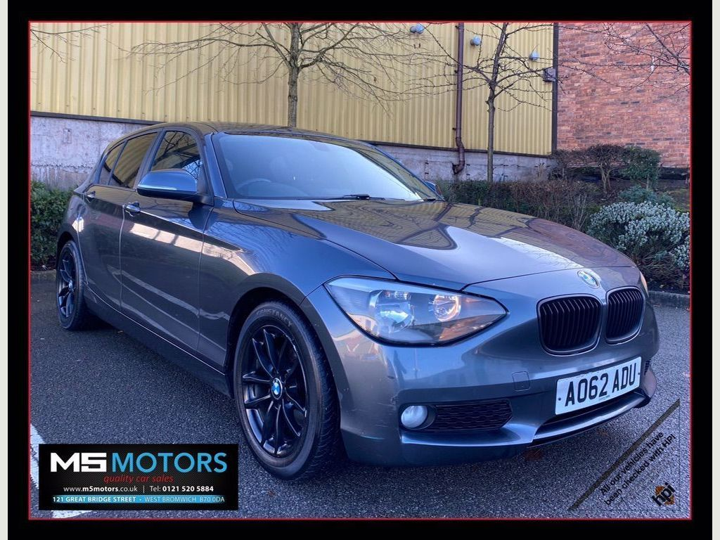 BMW 1 Series Hatchback 1.6 116d EfficientDynamics Sports Hatch 5dr
