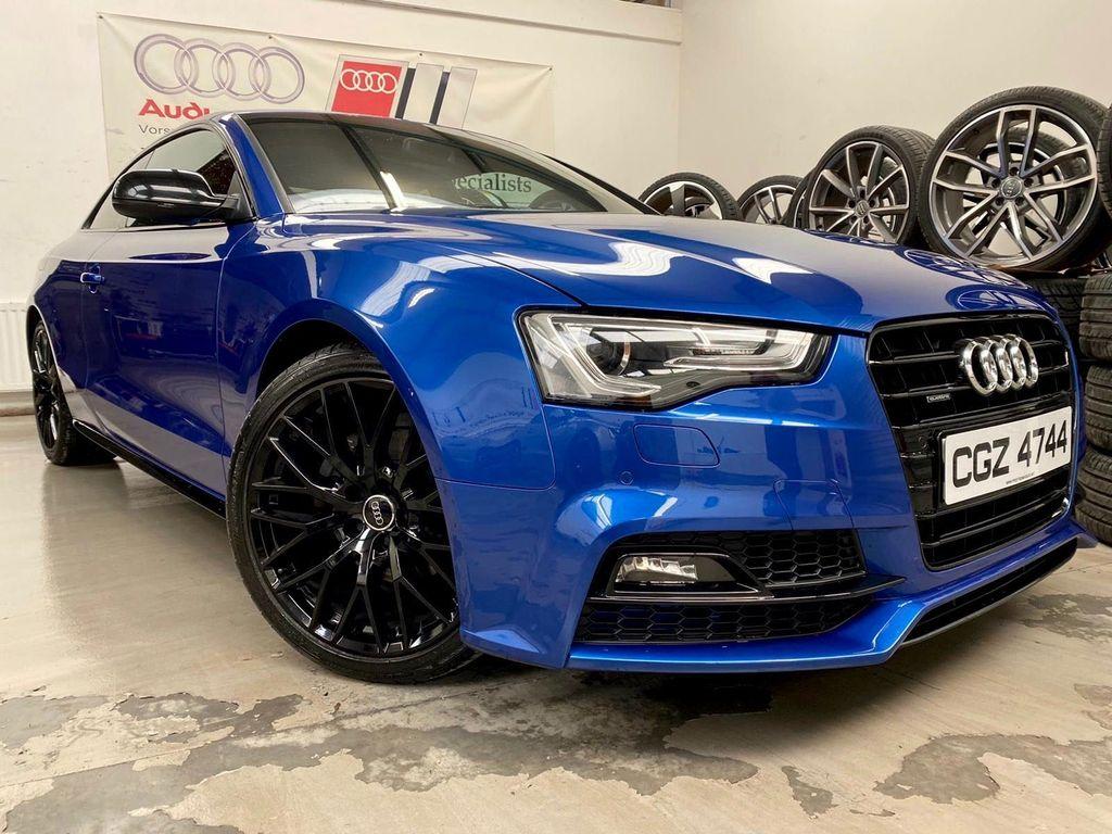 Audi A5 Coupe 2.0 TDI Black Edition Plus S Tronic quattro (s/s) 2dr