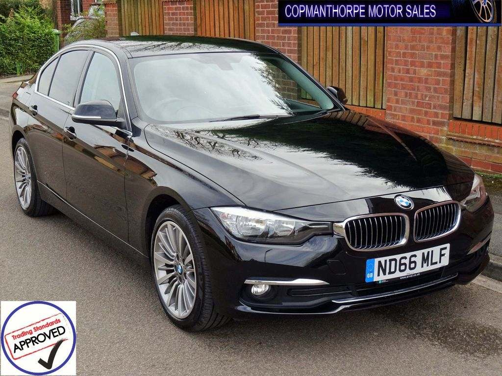 BMW 3 Series Saloon 2.0 320d BluePerformance Luxury xDrive (s/s) 4dr