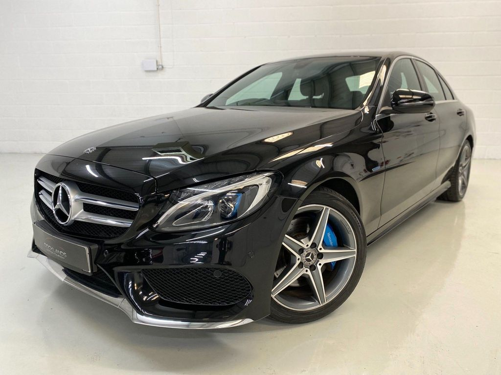 Mercedes-Benz C Class Saloon 2.0 C350e 6.4kWh AMG Line G-Tronic+ (s/s) 4dr