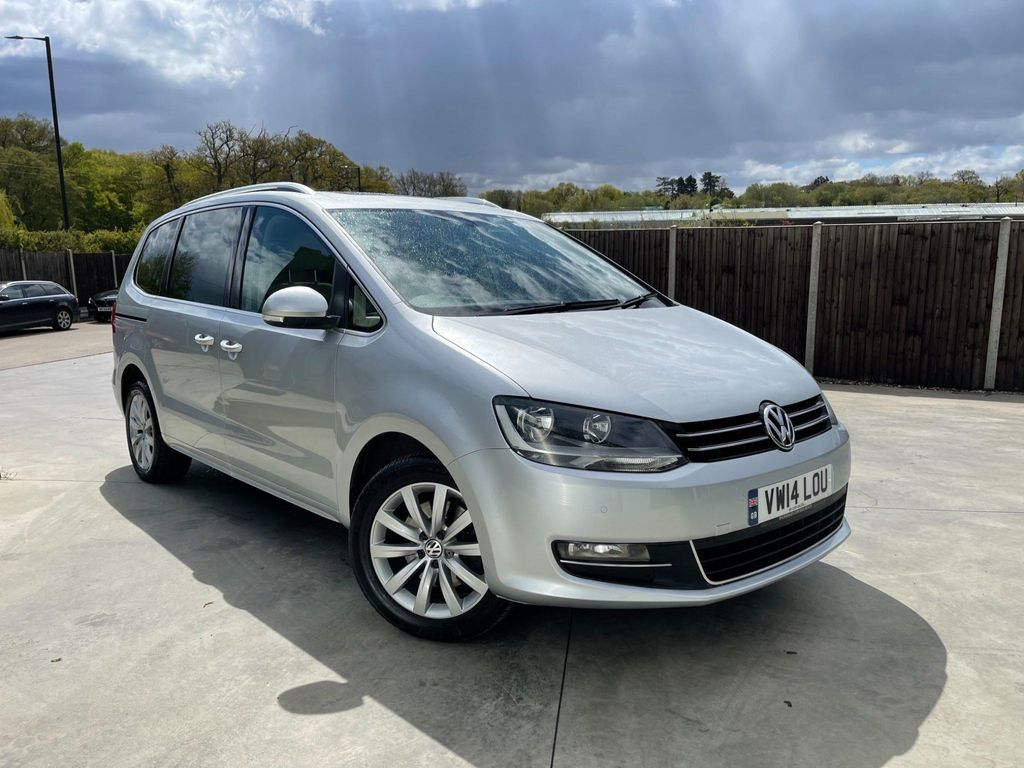 Volkswagen Sharan MPV 2.0 TDI BlueMotion Tech SEL DSG (s/s) 5dr