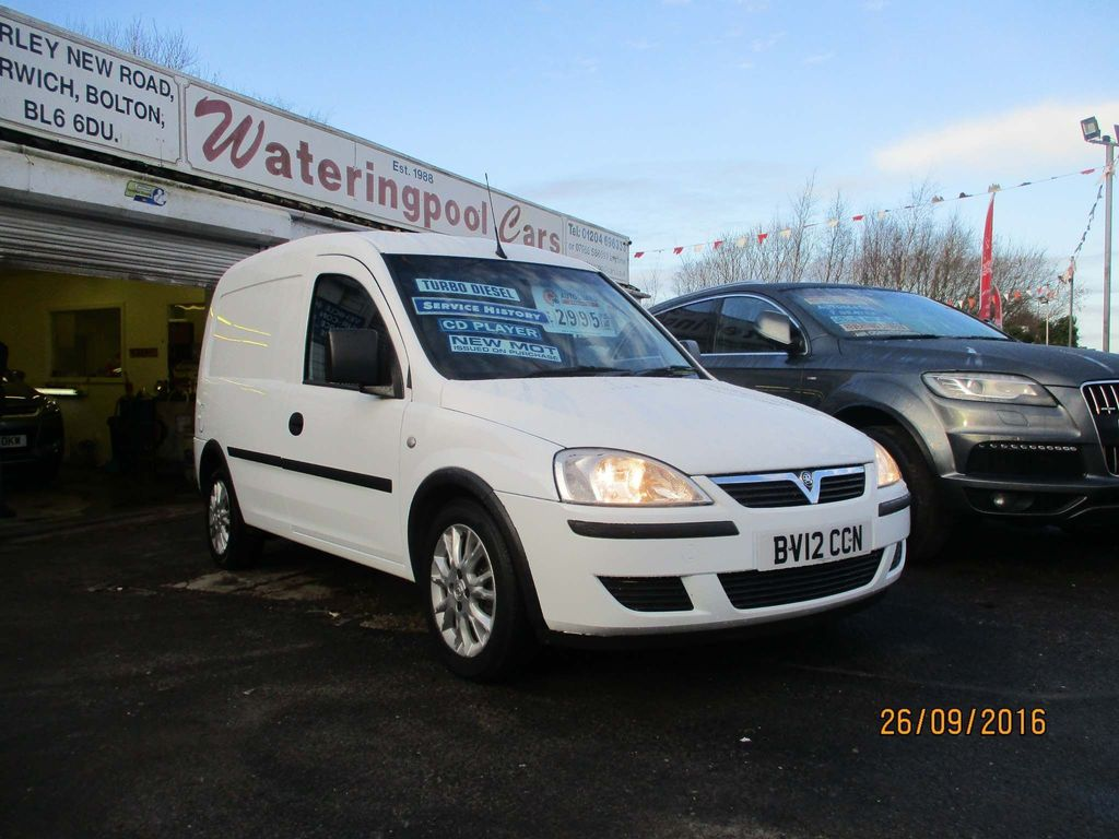 Vauxhall Combo Unlisted 1.3 CDTi 2000 16v Panel Van L1 H1 3dr