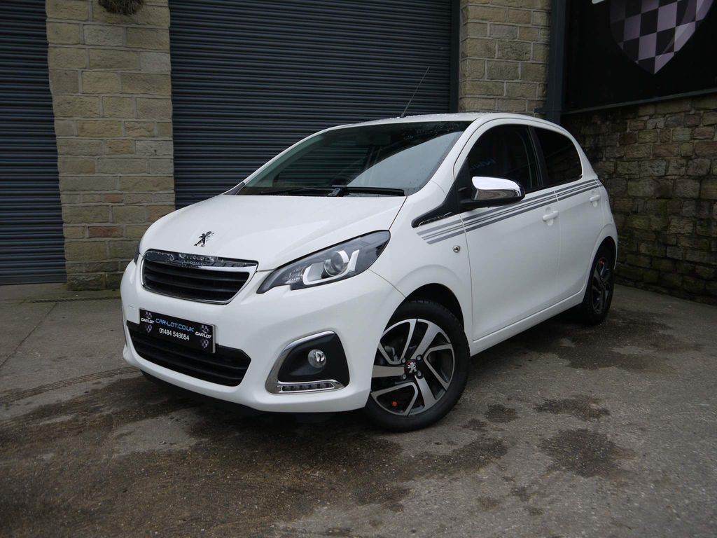 Peugeot 108 Hatchback 1.0 Collection (s/s) 5dr