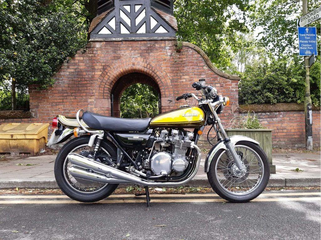 Kawasaki Z1000 Unlisted