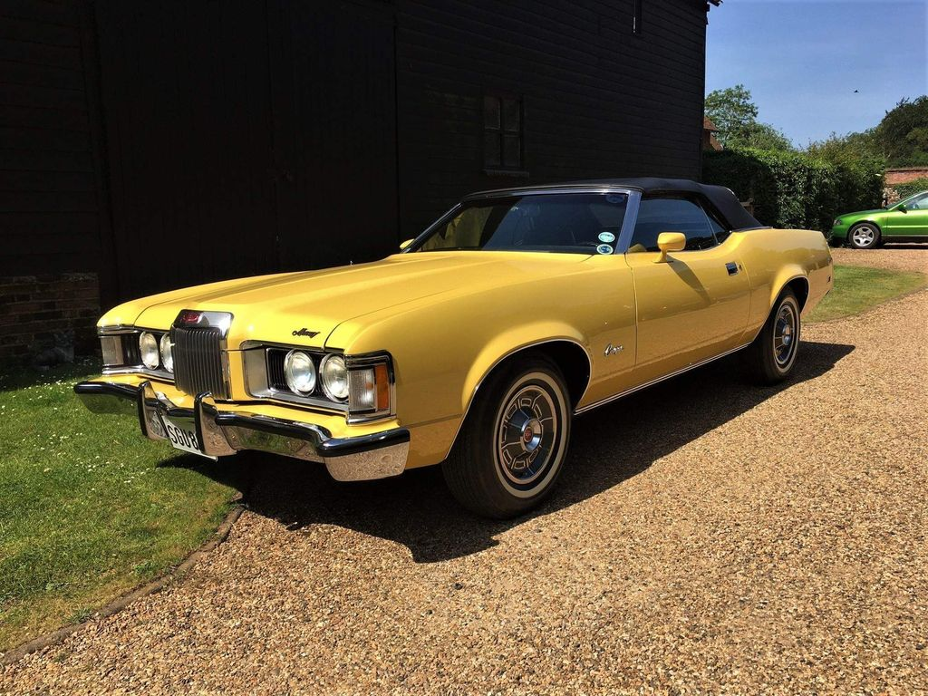 Ford Cougar Coupe FORD MERCURY COUGAR XR7