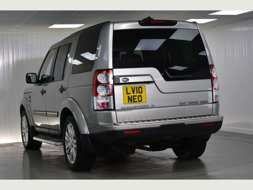 Used Land Rover Discovery 4 Suv 3 0 Td V6 Hse 4x4 5dr in
